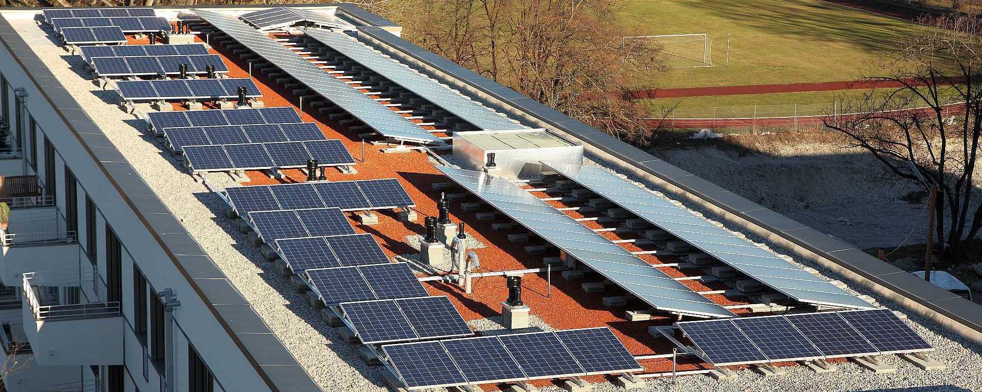 Günstige regenerative Energie für Mieter und Eigentümer.
